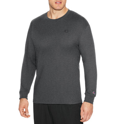 Champion Jersey Long Sleeve Crew Neck T-Shirt-Athletic