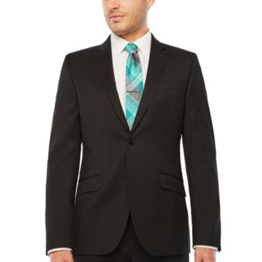 JF J.Ferrar Stripe Slim Fit Stretch Suit Jacket-Slim