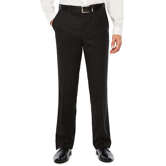 JF J.Ferrar - Slim Striped Slim Fit Stretch Suit Pants