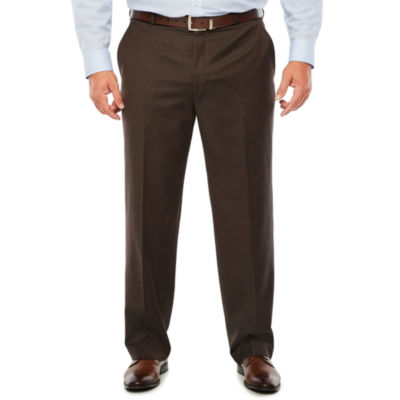 Stafford Woven Suit Pants-Big and Tall Fit