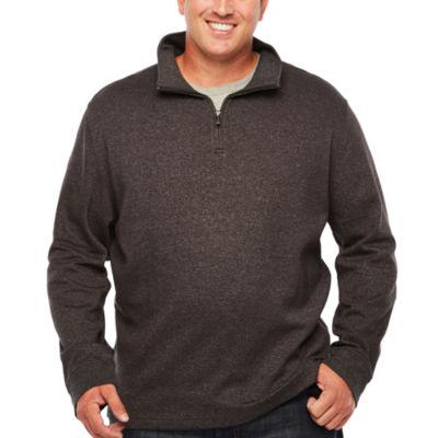 Van Heusen Quarter-Zip Pullover Big and Tall