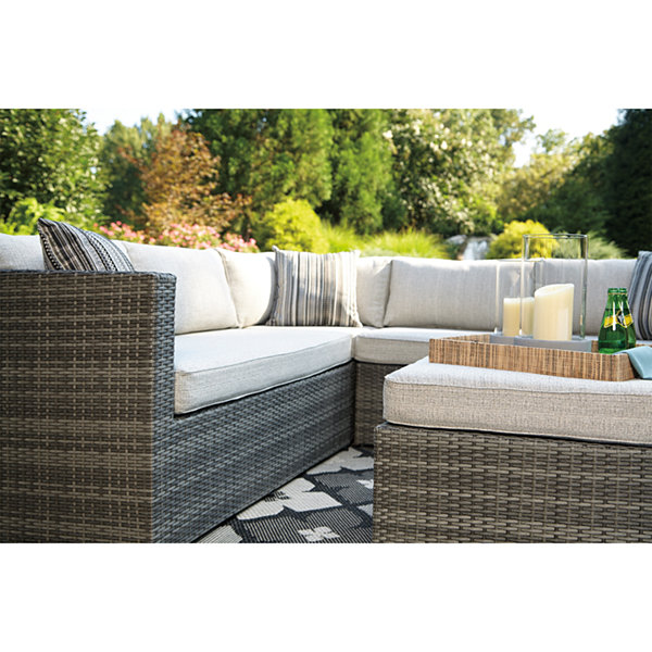 Outdoor By Ashley Sumatra Ottoman