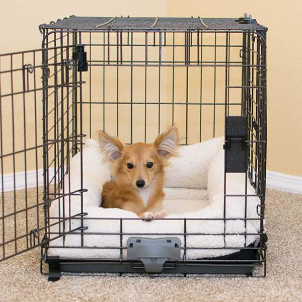 K & H Manufacturing Deluxe Bolster Crate Pad