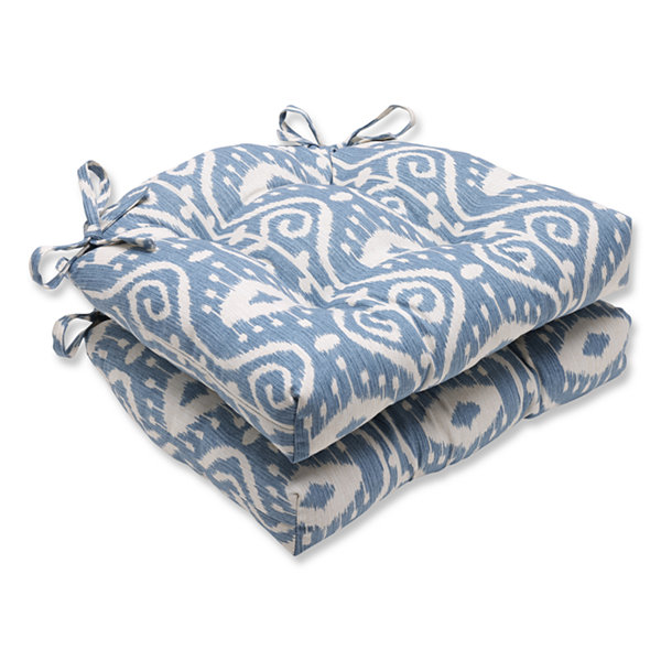 Pillow Perfect Pillow Perfect - Indoor Chair Pads Dining Cushion