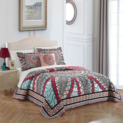 Chic Home Collin Quilt Set