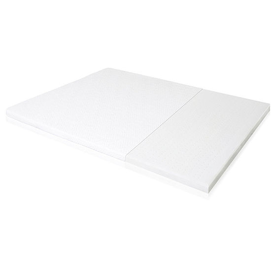 Malouf Isolus 2 Inch Ventilated Latex Mattress Topper