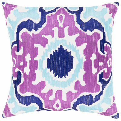 Decor 140 Garis Square Throw Pillow