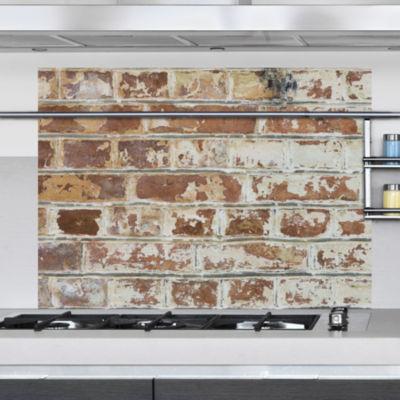 Brewster Wall Old Bricks Kitchen Panel Wall Decal
