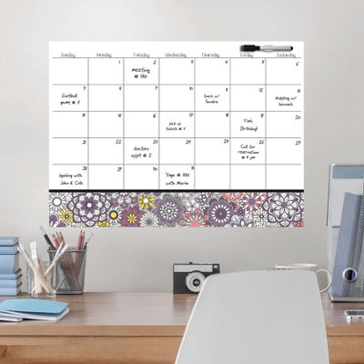 Brewster Wall Kerala Coloring Calendar Decal Message Board
