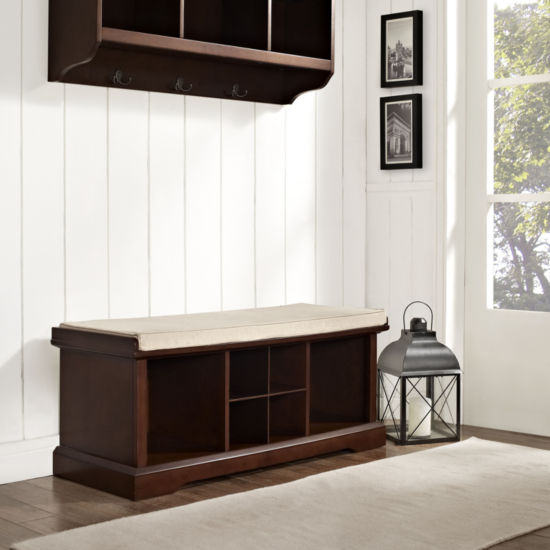 Brennan Entryway Storage Bench