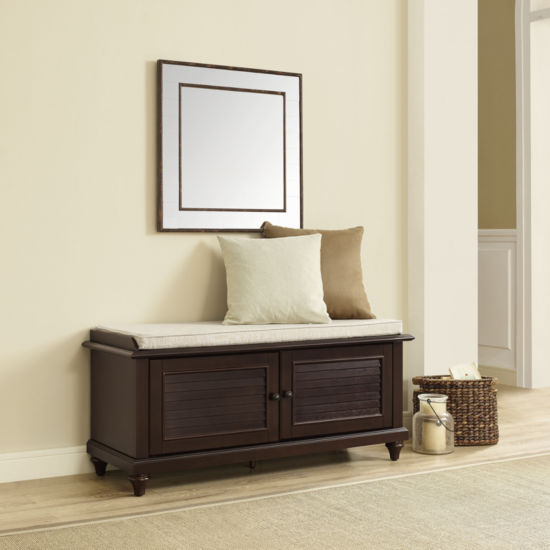 Palmetto Upholstered Entryway Bench