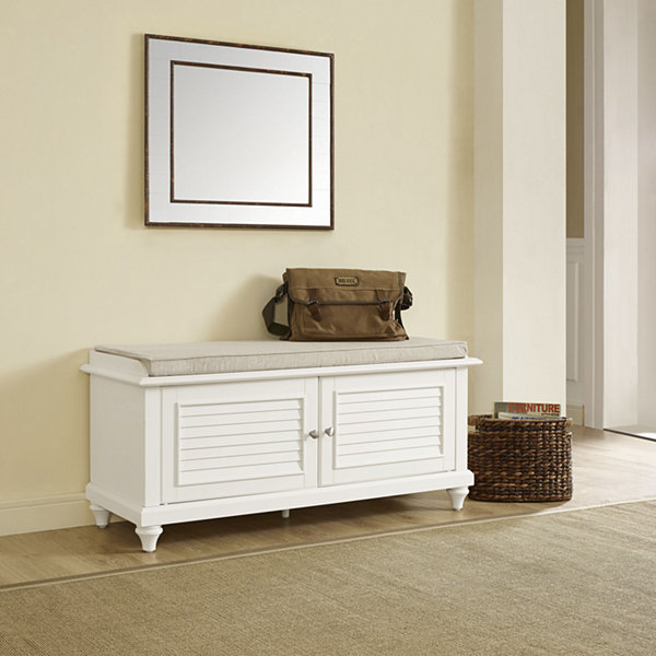 Jcpenney Foyer Furniture : Palmetto upholstered entryway bench jcpenney