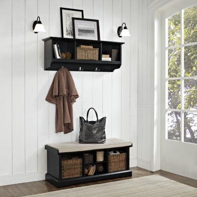 Brennan 2-pc. Entryway Bench and Shelf Set