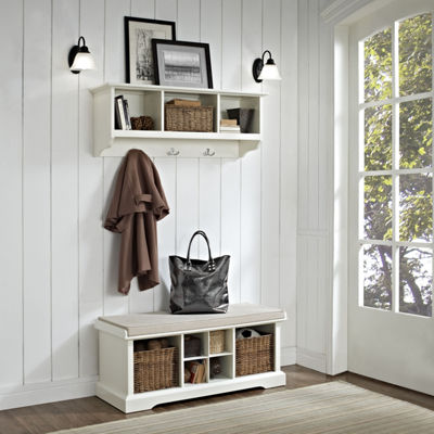 Brennan 2-pc. Entryway Bench and Shelf Set