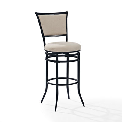 Rachel Upholstered Swivel Barstool