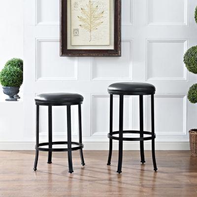 Windsor Upholstered Counter Stool