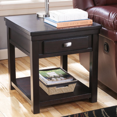 Signature Design by Ashley® Hatsuko 1-Drawer Storage End Table