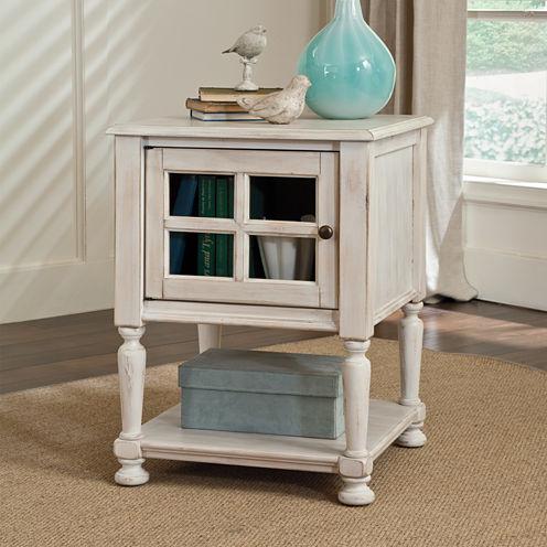 Signature Design by Ashley® Mirimyn Storage Chairside Table