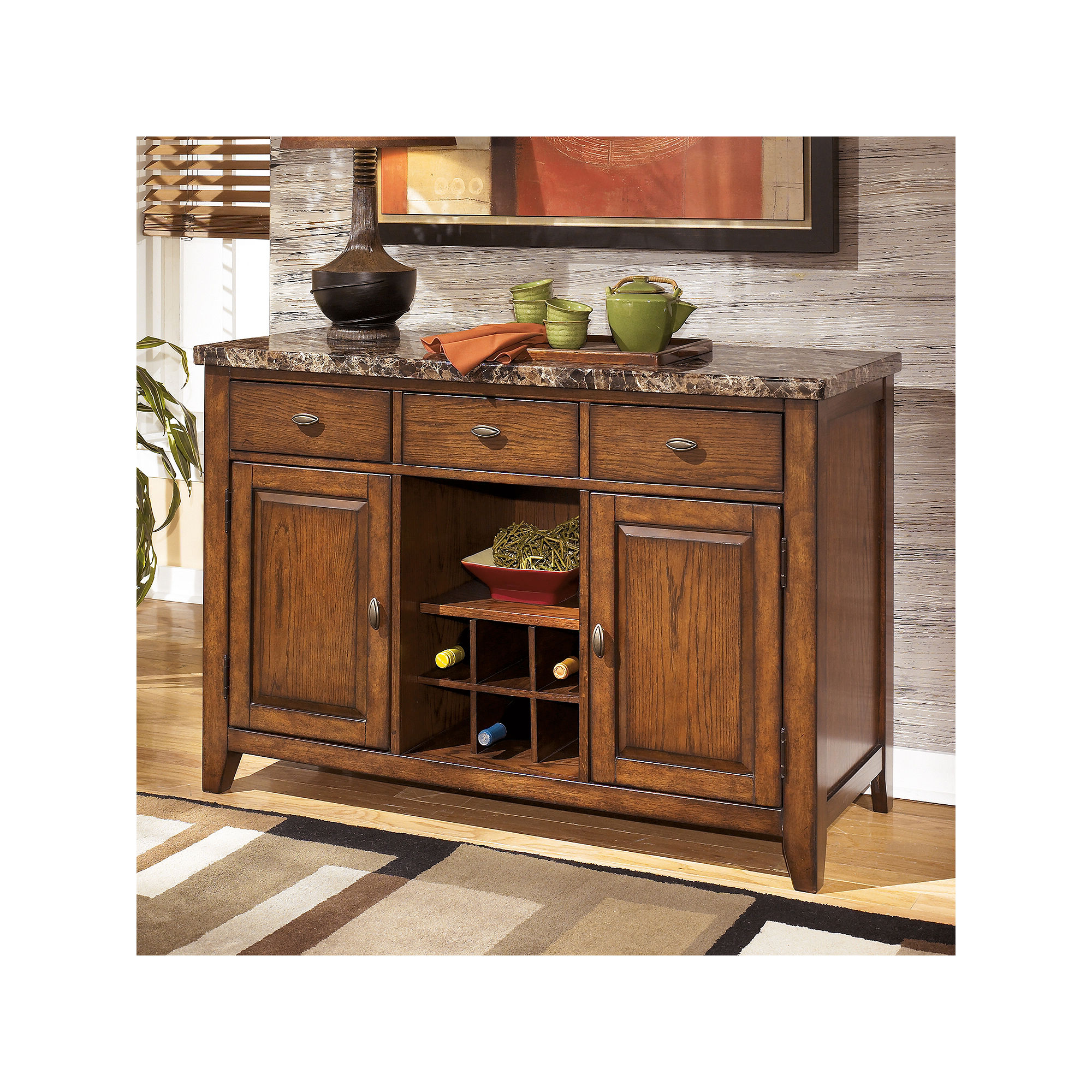 Signature Design by Ashley Lacey Dining Room Server