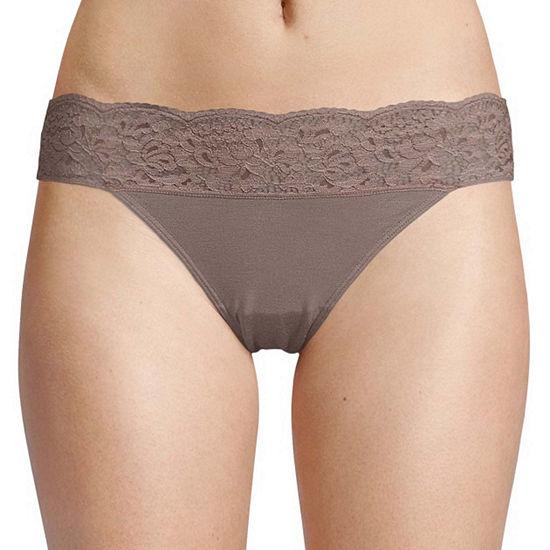 Ambrielle Knit Bikini Panty