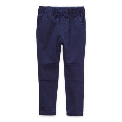 Okie Dokie Toddler Boys Skinny Pull-On Pants