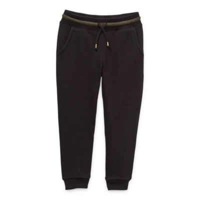 Okie Dokie Toddler Girls Cuffed Jogger Pant