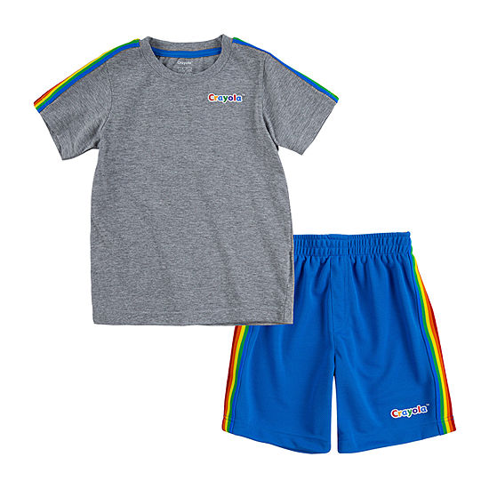 Crayola Baby Boys 2-pc. Short Set