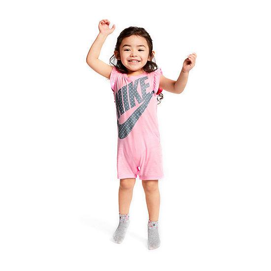 Nike Baby Girls Sleeveless Romper