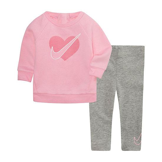 Nike Baby Girls 2-pc. Legging Set