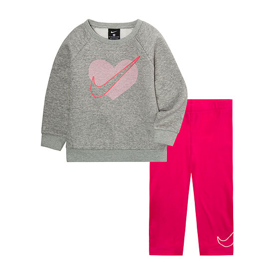 Nike Baby Girls 2-pc. Legging Set