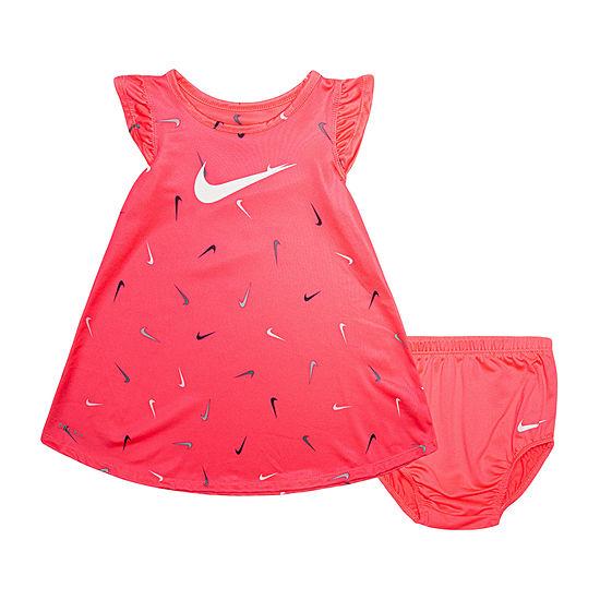 Nike Baby Girls Short Sleeve Shift Dress