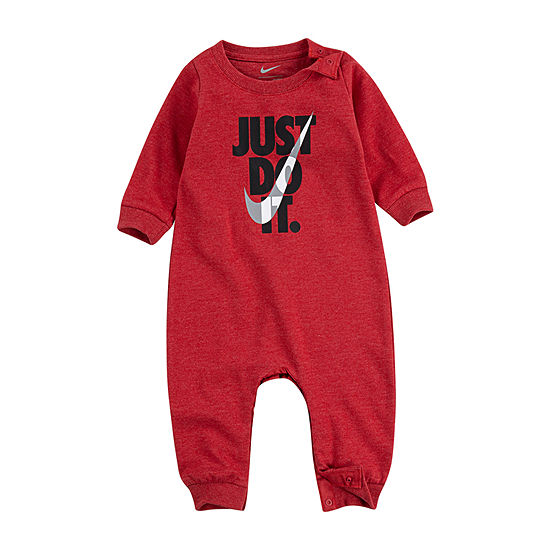 Nike Baby Boys Long Sleeve Jumpsuit