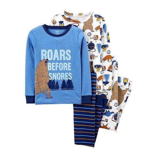 Carter's Little Boys 4-pc. Pajama Set