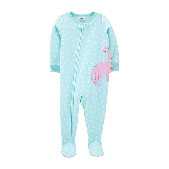 Carter's Toddler Girls Microfleece Long Sleeve One Piece Pajama