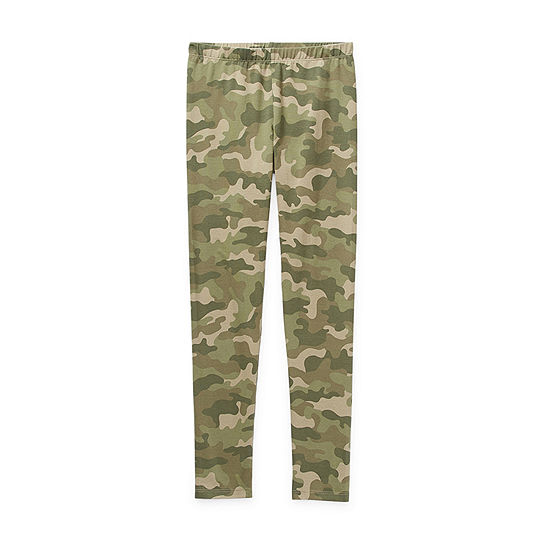 Arizona Tough Cotton Little & Big Girls Full Length Leggings