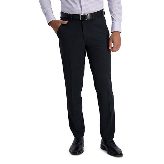 Haggar ® The Active Series™ City Flex™ Dress Pant with Extended Tab Slim Fit Flat Front
