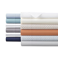 Home Expressions 220 Thread Count Cotton Percale Sheet Set Deals