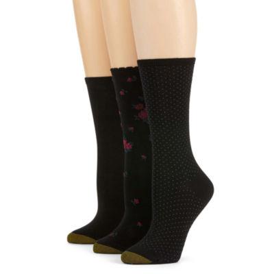 GoldToe® 3-pk. Crew Socks