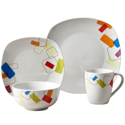Soho 16-pc. Porcelain Dinnerware Set