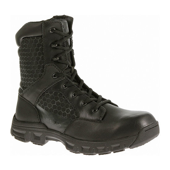 "Bates® 8"" Code 6 Mens Slip-Resistant Work Boots"