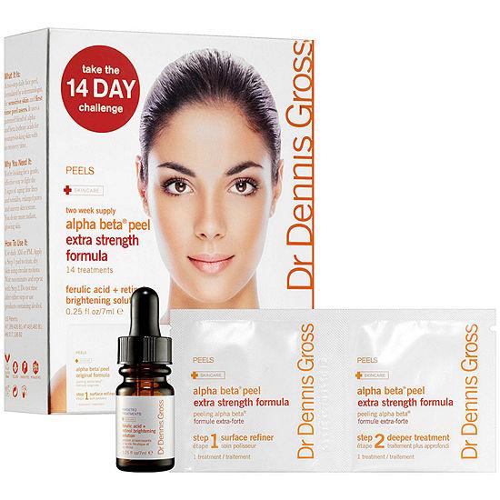 Dr Dennis Gross Skincare 14 Day Alpha Beta Peel With Ferulic Acid Retinol Solution