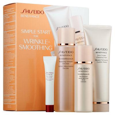 Shiseido Simple Start For Wrinkle-Smoothing Benefiance Set
