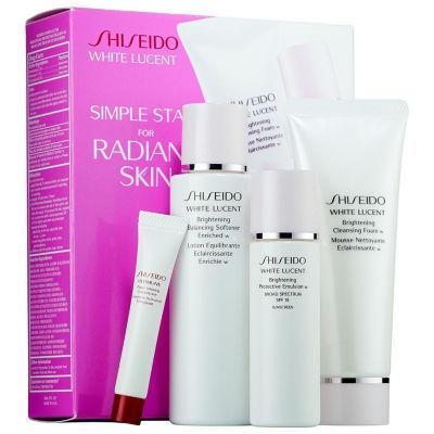 Shiseido Simple Start For Radiant Skin White Lucent Set