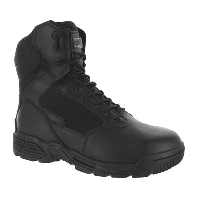 Magnum Stealth Force 8.0 Mens Side-Zip High-Top Work Boots