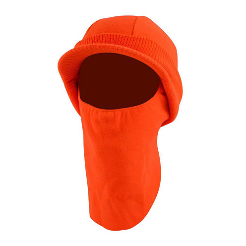 QuietWear® High-Visibility Fleece Visor Balaclava