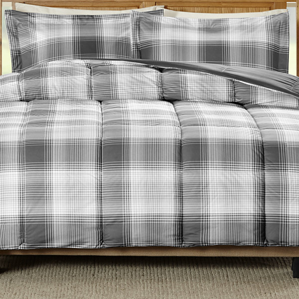 Woolrich Woodsman Softspun Down-Alternative Plaid Comforter Set