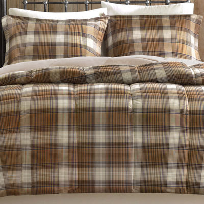 Woolrich Lumberjack Plaid Softspun Down-Alternative Comforter Set
