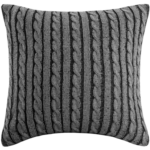 "Woolrich Williamsport Knit 18"" Square Decorative Pillow"