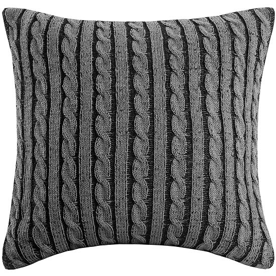 Woolrich Williamsport Knit 18 Square Decorative Pillow