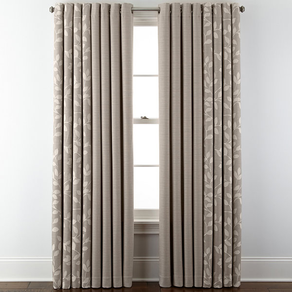 JCPenney HomeTM Quinn Grommet Top Window Treatments